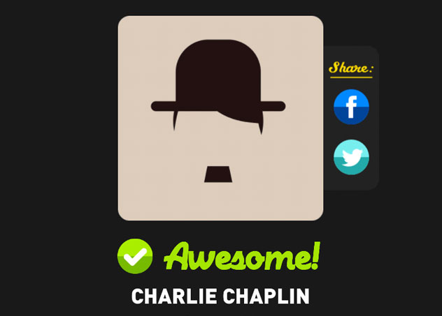 Charlie chaplin icon pop quiz