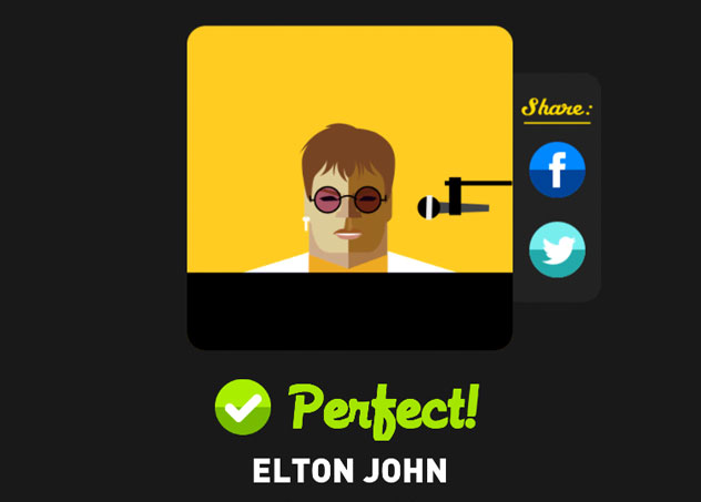 Elton john icon pop quiz