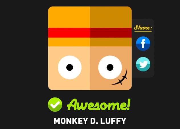 Monkey D Luffy Icon Pop Quiz Answers Icon Pop Quiz Cheats