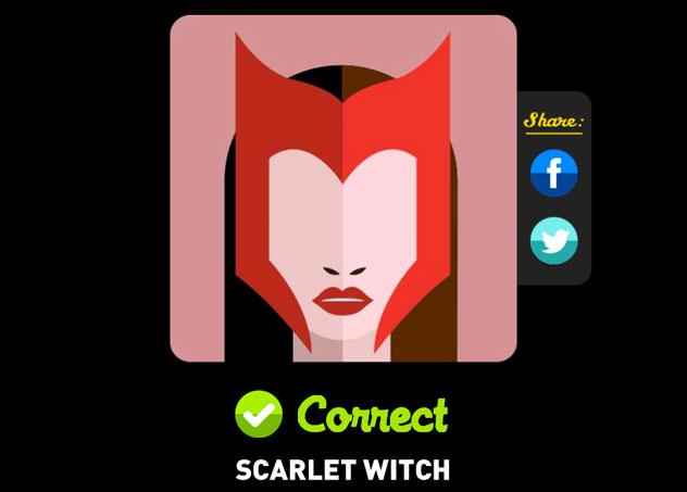 Scarlet Witch Icon Pop Quiz Answers Icon Pop Quiz Cheats