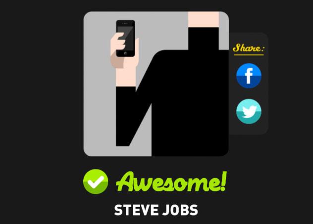 Steve jobs icon pop quiz