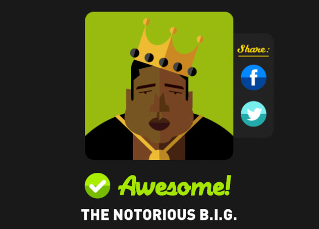 The notorious b i g icon pop quiz